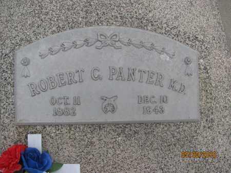 PANTER, ROBERT C.   M.D. - Saline County, Nebraska | ROBERT C.   M.D. PANTER - Nebraska Gravestone Photos