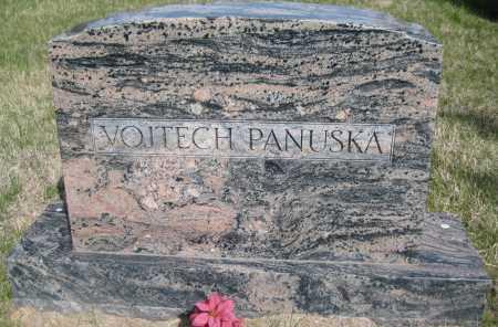PANUSKA, VOITECH - Saline County, Nebraska | VOITECH PANUSKA - Nebraska Gravestone Photos
