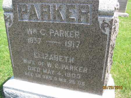 PARKER, WILLIAM C. - Saline County, Nebraska | WILLIAM C. PARKER - Nebraska Gravestone Photos