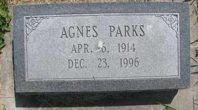 PARKS, AGNES - Saline County, Nebraska   AGNES PARKS - Nebraska Gravestone Photos