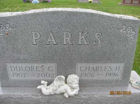 PARKS, CHARLES H. - Saline County, Nebraska | CHARLES H. PARKS - Nebraska Gravestone Photos
