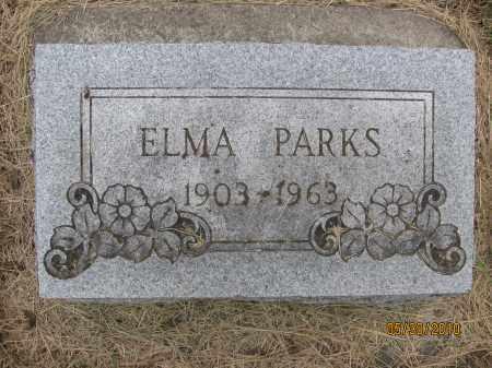 PARKS, ELMA - Saline County, Nebraska | ELMA PARKS - Nebraska Gravestone Photos