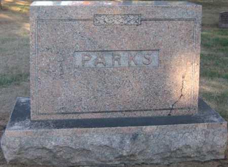 PARKS, FAMILY MONUMENT - Saline County, Nebraska | FAMILY MONUMENT PARKS - Nebraska Gravestone Photos