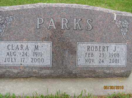 MOSER PARKS, CLARA MAY - Saline County, Nebraska | CLARA MAY MOSER PARKS - Nebraska Gravestone Photos