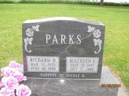 LYTTLE PARKS, MAUREEN CATHERINE - Saline County, Nebraska | MAUREEN CATHERINE LYTTLE PARKS - Nebraska Gravestone Photos