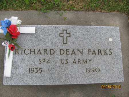PARKS, RICHARD DEAN - Saline County, Nebraska | RICHARD DEAN PARKS - Nebraska Gravestone Photos