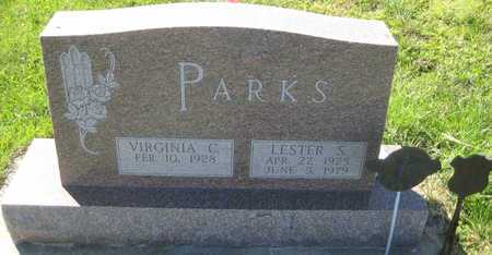 PARKS, LESTER S. - Saline County, Nebraska | LESTER S. PARKS - Nebraska Gravestone Photos