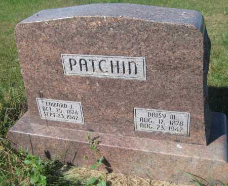 PATCHIN, EDWARD J. - Saline County, Nebraska | EDWARD J. PATCHIN - Nebraska Gravestone Photos
