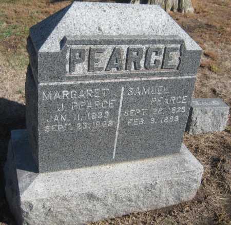 PEARCE, MARGARET - Saline County, Nebraska | MARGARET PEARCE - Nebraska Gravestone Photos