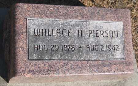 PIERSON, WALLACE A. - Saline County, Nebraska | WALLACE A. PIERSON - Nebraska Gravestone Photos