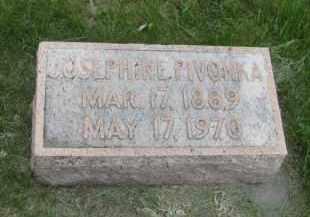PIVONKA, JOSEPHINE - Saline County, Nebraska   JOSEPHINE PIVONKA - Nebraska Gravestone Photos