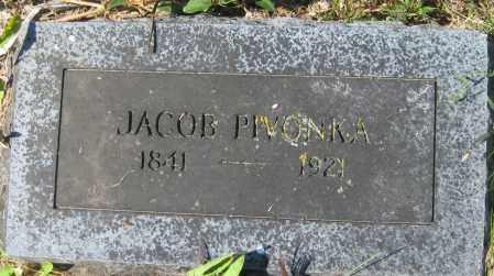 PIVONKA, JACOB - Saline County, Nebraska   JACOB PIVONKA - Nebraska Gravestone Photos