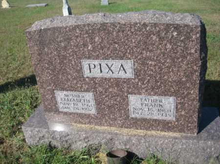 PIXA, ELIZABETH - Saline County, Nebraska | ELIZABETH PIXA - Nebraska Gravestone Photos