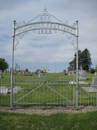 *PLAINVIEW CEMETERY, GATE - Saline County, Nebraska | GATE *PLAINVIEW CEMETERY - Nebraska Gravestone Photos