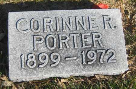 PORTER, CORINNE R. - Saline County, Nebraska | CORINNE R. PORTER - Nebraska Gravestone Photos