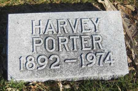 PORTER, HARVEY - Saline County, Nebraska | HARVEY PORTER - Nebraska Gravestone Photos