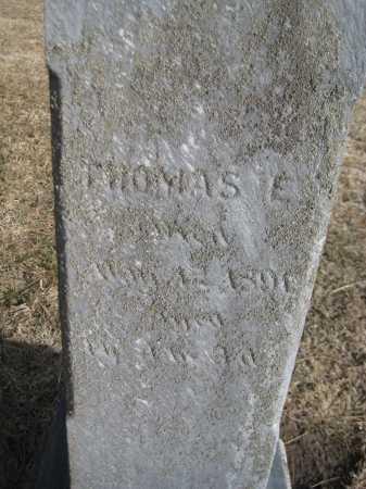 PORTER, THOMAS E. - Saline County, Nebraska   THOMAS E. PORTER - Nebraska Gravestone Photos