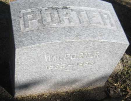 PORTER, WILLIAM - Saline County, Nebraska | WILLIAM PORTER - Nebraska Gravestone Photos