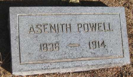 POWELL, ASENITH - Saline County, Nebraska | ASENITH POWELL - Nebraska Gravestone Photos