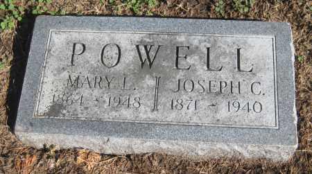 POWELL, MARY L. - Saline County, Nebraska | MARY L. POWELL - Nebraska Gravestone Photos
