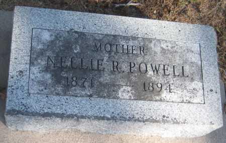 POWELL, NELLIE R. - Saline County, Nebraska   NELLIE R. POWELL - Nebraska Gravestone Photos