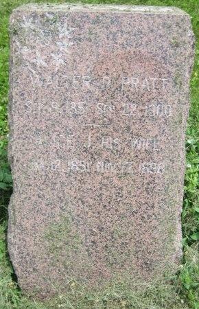 PRATT, WALTER D. - Saline County, Nebraska   WALTER D. PRATT - Nebraska Gravestone Photos