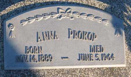 PROKOP, ANNA - Saline County, Nebraska | ANNA PROKOP - Nebraska Gravestone Photos