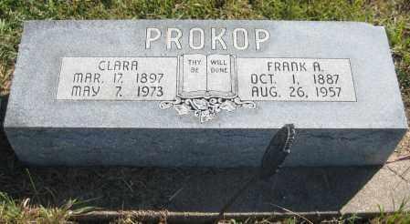 PROKOP, FRANK A. - Saline County, Nebraska | FRANK A. PROKOP - Nebraska Gravestone Photos
