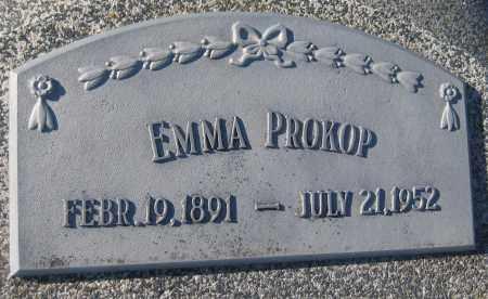 PROKOP, EMMA - Saline County, Nebraska   EMMA PROKOP - Nebraska Gravestone Photos