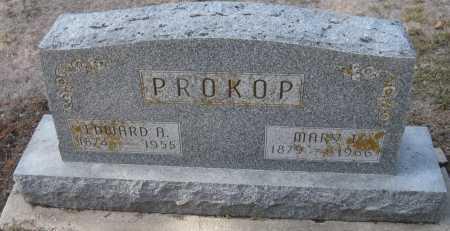 PROKOP, MARY J. - Saline County, Nebraska   MARY J. PROKOP - Nebraska Gravestone Photos