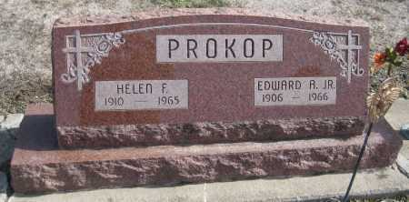 PROKOP, EDWARD A. JR. - Saline County, Nebraska | EDWARD A. JR. PROKOP - Nebraska Gravestone Photos