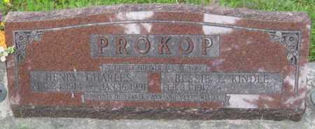 PROKOP, BESSIE L. - Saline County, Nebraska | BESSIE L. PROKOP - Nebraska Gravestone Photos