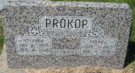 PROKOP, JOSEPHINE - Saline County, Nebraska | JOSEPHINE PROKOP - Nebraska Gravestone Photos