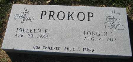 PROKOP, JOLLEEN E. - Saline County, Nebraska   JOLLEEN E. PROKOP - Nebraska Gravestone Photos