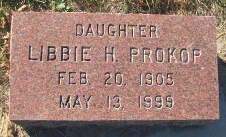 PROKOP, LIBBIE H. - Saline County, Nebraska | LIBBIE H. PROKOP - Nebraska Gravestone Photos