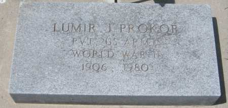 PROKOP, LUMIR J. - Saline County, Nebraska   LUMIR J. PROKOP - Nebraska Gravestone Photos