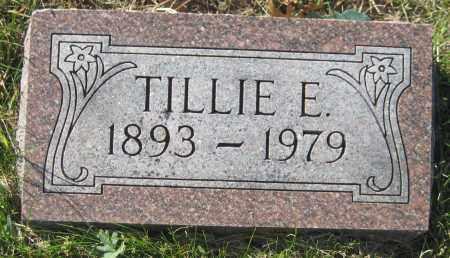 PROKOP, TILLIE E. - Saline County, Nebraska | TILLIE E. PROKOP - Nebraska Gravestone Photos