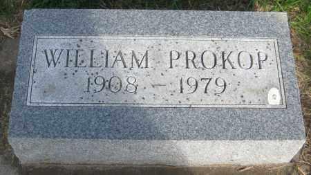 PROKOP, WILLIAM - Saline County, Nebraska   WILLIAM PROKOP - Nebraska Gravestone Photos