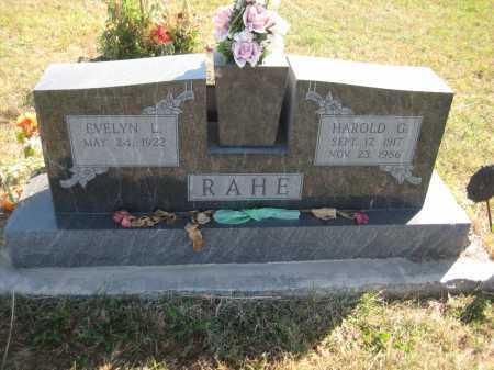 BROLHORST RAHE, EVELYN L. - Saline County, Nebraska   EVELYN L. BROLHORST RAHE - Nebraska Gravestone Photos