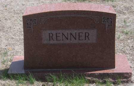 RENNER, FAMILY MONUMENT - Saline County, Nebraska | FAMILY MONUMENT RENNER - Nebraska Gravestone Photos