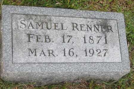 RENNER, SAMUEL - Saline County, Nebraska | SAMUEL RENNER - Nebraska Gravestone Photos