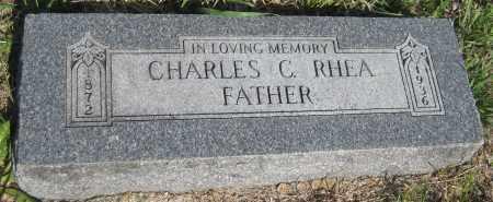 RHEA, CHARLES C. - Saline County, Nebraska | CHARLES C. RHEA - Nebraska Gravestone Photos