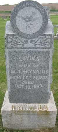RHYNALDS, LAVINA - Saline County, Nebraska   LAVINA RHYNALDS - Nebraska Gravestone Photos