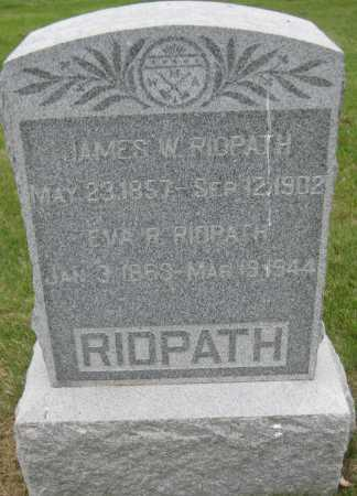 RIDPATH, EVA R. - Saline County, Nebraska | EVA R. RIDPATH - Nebraska Gravestone Photos