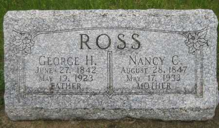 ROSS, GEORGE H. - Saline County, Nebraska | GEORGE H. ROSS - Nebraska Gravestone Photos