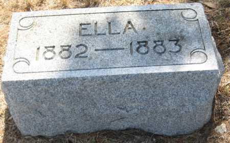 RUPERT, ELLA - Saline County, Nebraska   ELLA RUPERT - Nebraska Gravestone Photos