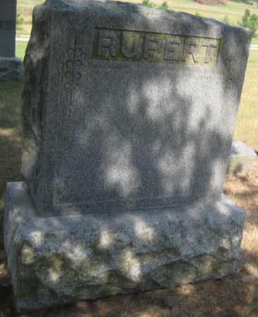 RUPERT, FAMILY MONUMENT - Saline County, Nebraska | FAMILY MONUMENT RUPERT - Nebraska Gravestone Photos