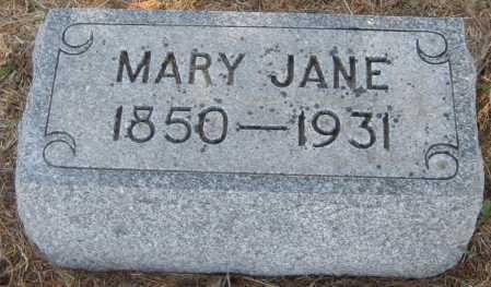 RUPERT, MARY JANE - Saline County, Nebraska | MARY JANE RUPERT - Nebraska Gravestone Photos