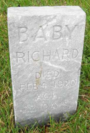 SAVAGE, BABY RICHARD - Saline County, Nebraska | BABY RICHARD SAVAGE - Nebraska Gravestone Photos