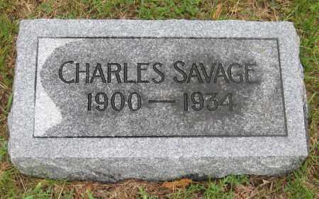 SAVAGE, CHARLES - Saline County, Nebraska | CHARLES SAVAGE - Nebraska Gravestone Photos